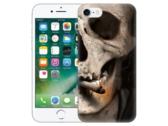 iPhone 7 Skal Smoking Skull