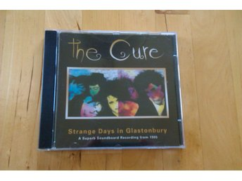 THE CURE - Strange Days In Glastonbury Live-CD Promo Rare