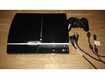 PlayStation 3/PS3 80GB - med handkontroll & alla sladdar (HDMI)