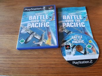 WWII BATTLES OVER THE PACIFIC PS2 BEG