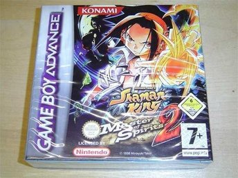 SHAMAN KING MASTER SPIRITS 2 NINTENDO GAMEBOY ADVANCE *NYTT*