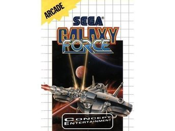 GALAXY FORCE (i box) till Sega Master System