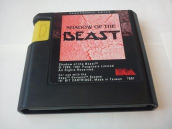 Megadrive: Shadow of the Beast (Enbart kassett)