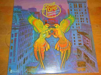 FOUR TOPS - NIGHT LIGHTS HARMONY LP 1975