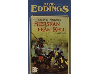 Sierskan från Kell, David Eddings (Pocket)