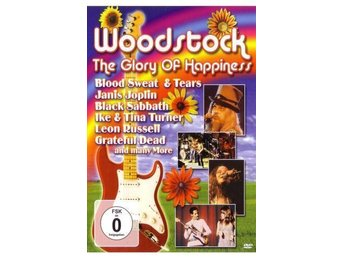 Woodstock The Glory of Happiness  DVD
