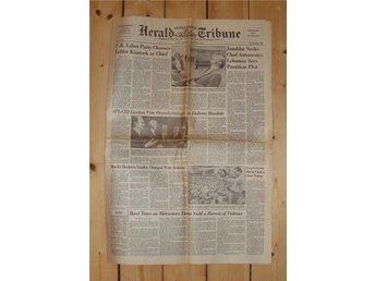 1983-10-03 Herald Tribune. Neil Kinnock. - Helsingborg - 1983-10-03 Herald Tribune. Neil Kinnock. - Helsingborg