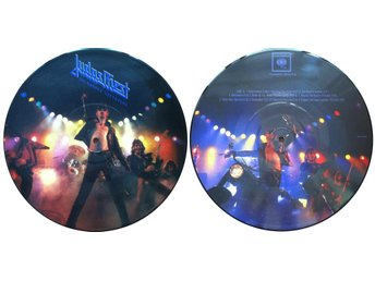 "JUDAS PRIEST 'Unleashed Leftovers' 10"" picture-disc vinyl EP"