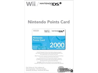 Nintendo Points Card 2000