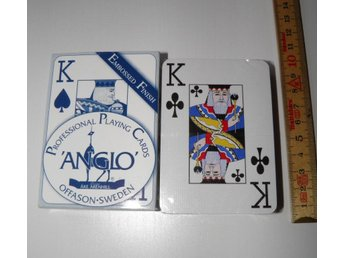 KORTLEK ÅKE ARENHILL ANGLO OÖPPNAD PLAYING CARDS