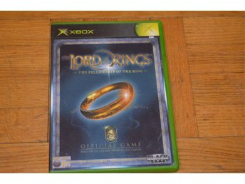 Lord Of The Rings - The Fellowship Of The Ring Xbox