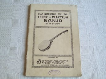 Katalog  ( Self Instructor For The TENOR or PLECTRUM BANJO ) 1916
