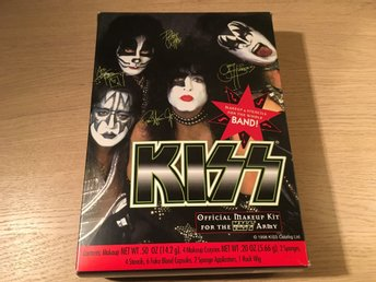 Kiss - Make up kit oöppnat