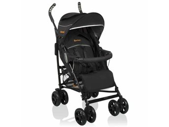 Baninni Barnvagn Messina 2in1 Night Edition svart BNST027-BK