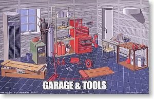 Fujimi 1/24 Garage & Tools