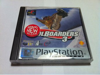 PS1/PSone: CoolBoarders/Cool Boarders 3 (III)