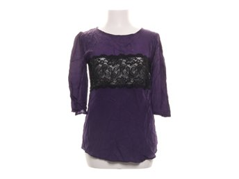 By Malina Collection, Blus, Strl: 36, Lila/Svart