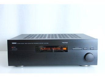 YAMAHA DSP-E580 NATURAL SOUND PROCESSOR AMPLIFIER