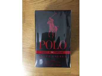 Ralph Lauren Polo Red Extreme Parfum 75ml Orginal oöppnad Inplastad