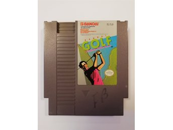 Bandai Golf Challenge Pebble Beach NES Nintendo NTSC