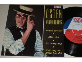 Östen Warnerbring EP/PS Sommarvind 1967 VG++