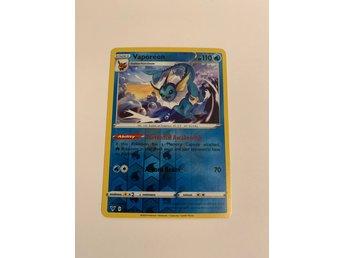 Vaporeon 030//185 Pack Fresh Rare Reverse Holo Vivid Voltage Pokemon NM//M