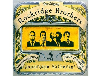 The Rockridge Brothers - Rockridge Hollerin - CD NY - FRI FRAKT