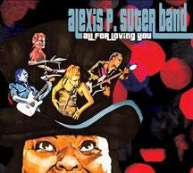 Alexis P Suter Band: All For Loving You (CD) - Nossebro - Alexis P Suter Band: All For Loving You (CD) - Nossebro