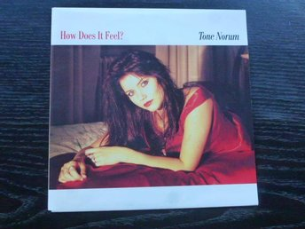 "TONE NORUM - How does it feel  CBS -90 7"" singel"