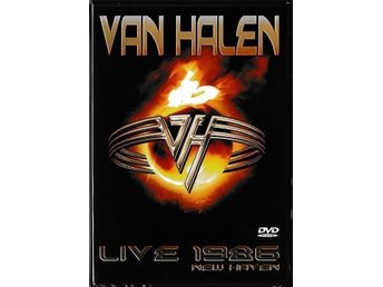 "Van Halen "" Live 1986 New Haven "" DVD , Ny inplastad"