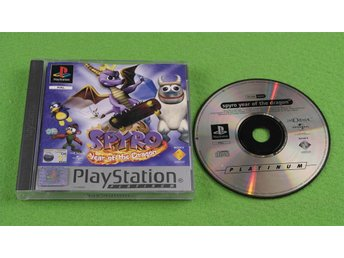 Spyro 3 Year of the Dragon SVENSK Playstation PSone