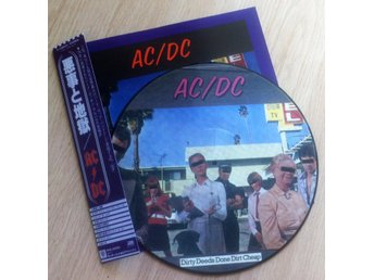 AC/DC 'Dirty Deeds Done Dirt Cheap' Japan picture-disc LP