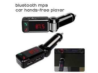 LCD Car Kit Wireless Bluetooth FM Transmitter Dual USB Charger MP3 Handsfree Mic - Govindapuram - LCD Car Kit Wireless Bluetooth FM Transmitter Dual USB Charger MP3 Handsfree Mic - Govindapuram