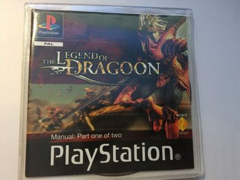 Legend Of Dragoon , Original utgåva,  PS1 PAL