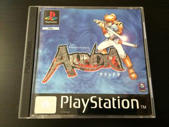 The Adventures of Alundra - Playstation PS1