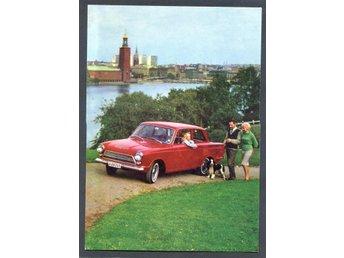 Ford Cortina-En Ford i folkton 10300 på gatan !!Härligt kort - Lenhovda - Ford Cortina-En Ford i folkton 10300 på gatan !!Härligt kort - Lenhovda