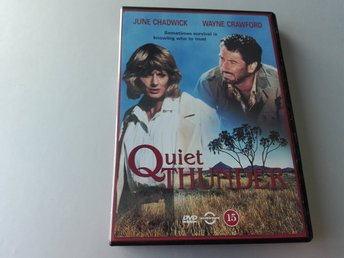 Quiet Thunder (1988) Ny DVD Reg.2, action, Wayne Crawford, June Chadwick, m.fl.