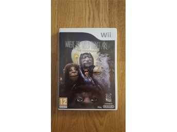 WII spel:  Where the wild things are