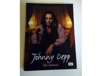 Johnny Depp bok, av Nick Johnstone
