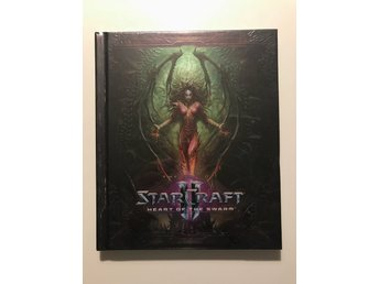 Starcraft 2 Heart of the Swarm Artbook INPLASTAD