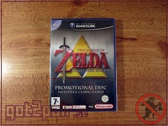 Zelda Collectors Edition till Gamecube / GC - NYTT