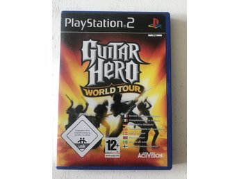 Guitar hero world tour play station 2 ps2 spel