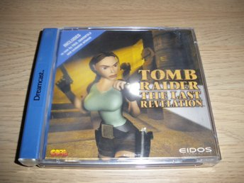 Sega Dreamcast - Tomb Raider - The Last Revelation