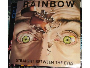 "Rainbow LP ""Straight between the eyes"""