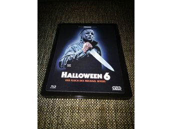 Halloween 6 Limited Metalpak 3 D cover RARE OOP