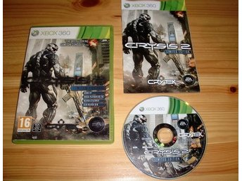 Xbox 360: Crysis 2 - Limited Edition