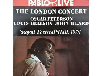 LP Oscar Peterson, Louis Bellson, John Heard  The London Concert