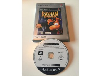 Playstation 2 PS2 Rayman Revolution CB