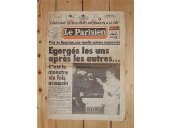 1983-10-07 Le Parisien. - Helsingborg - 1983-10-07 Le Parisien. - Helsingborg