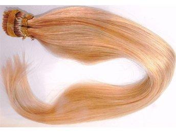 100 st ÄKTA REMY HÅR STICK HAIR 50 cm LÅNG #22 +100 ST MICKRORINGAR - Veinge - 100 st ÄKTA REMY HÅR STICK HAIR 50 cm LÅNG #22 +100 ST MICKRORINGAR - Veinge